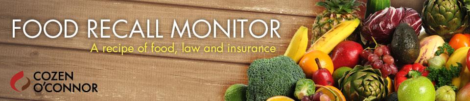 Food Recall Monitor